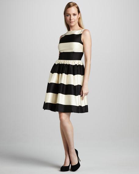carolyn striped sleeveless dress