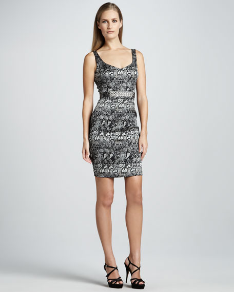 Animal Print Cocktail Dress