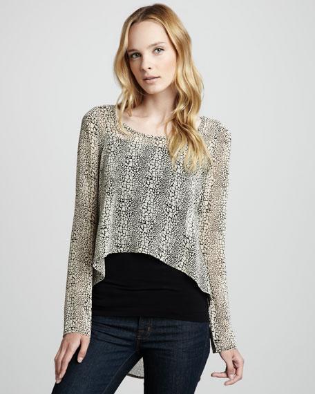 Crochet-Back Top
