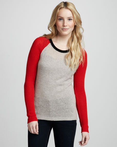 Velvet by Graham & Spencer Colorblock Sweater