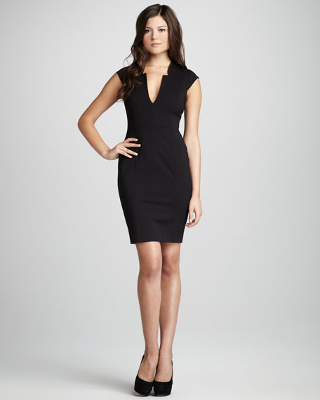Alonda Stretch Crepe Dress