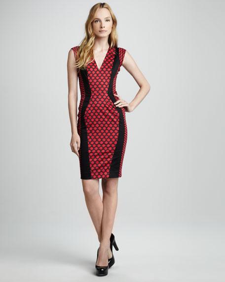 Geraldine Printed Dress