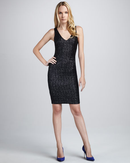 Sequined Stretch Dress