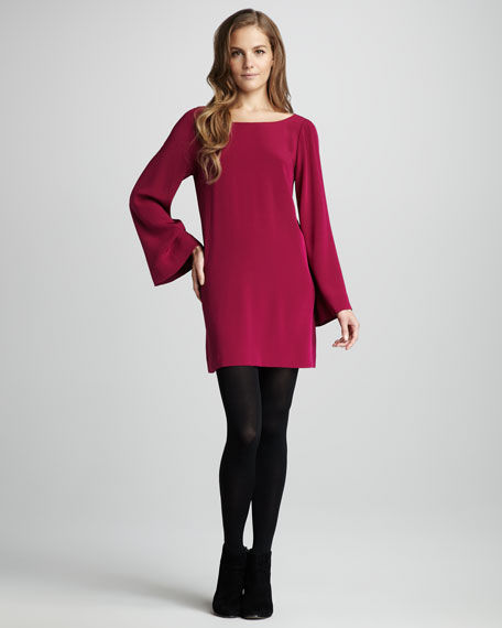 Dani Bell-Sleeve Dress