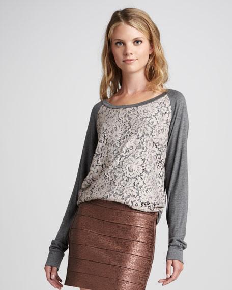 Metallic Bandage Skirt