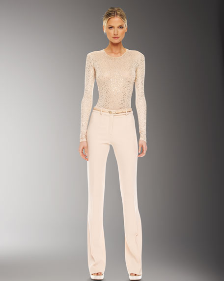 Agyness Crepe Trousers