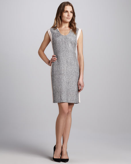 Katherine Two-Tone Dress