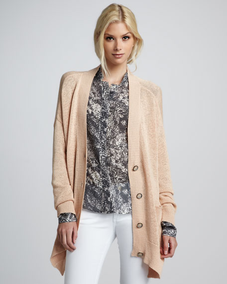 Helena High-Low Cardigan