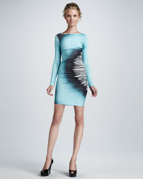 Carissa Ink-Wash Dress