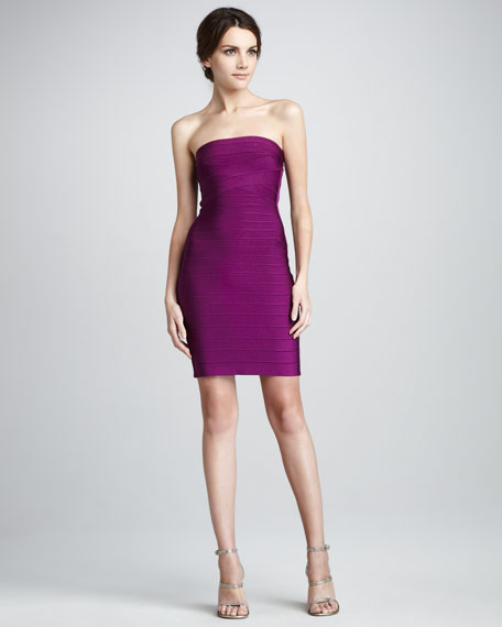Strapless Bandage Dress