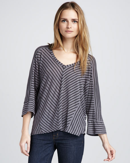 Vienna Striped Top