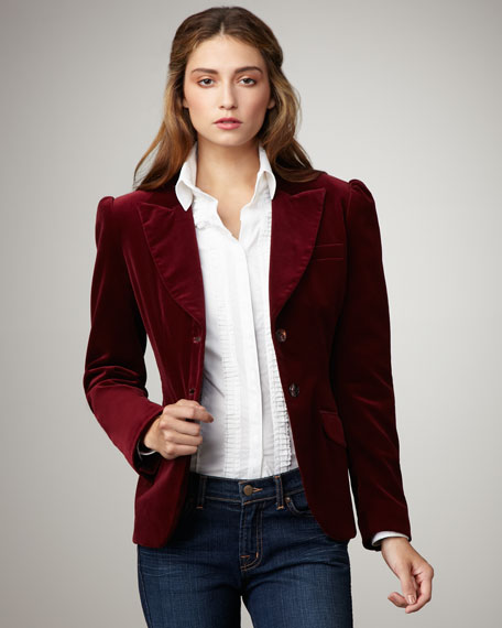 Juliet Velour Blazer