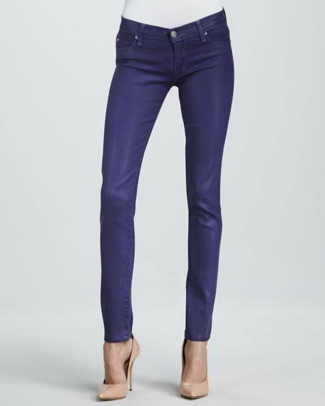 Krista Sugarplum Wax Super Skinny Jeans