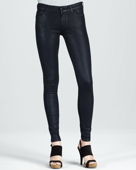 Skinny Midnight Coated Jeans