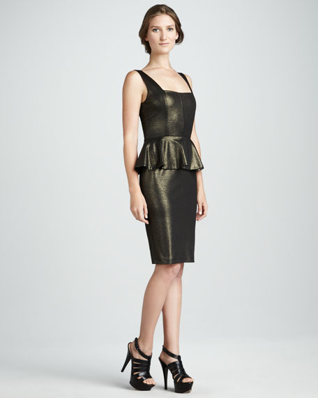 Dahlia Metallic Dress