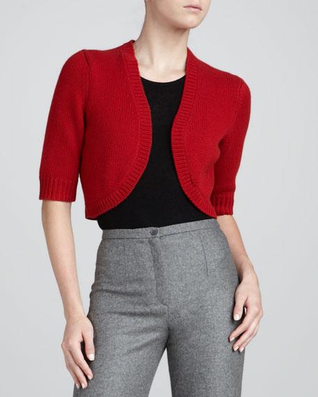 Cashmere Shrug, Crimson