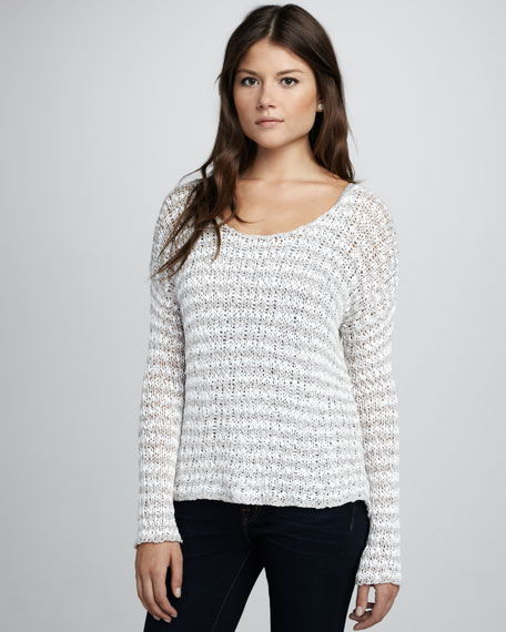 Annabelle Striped Knit Sweater