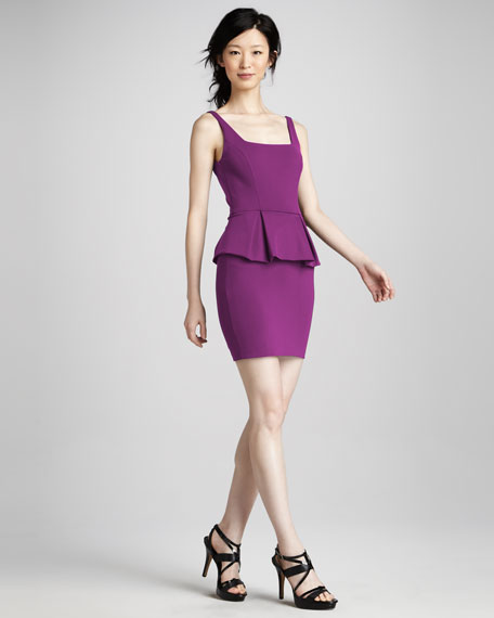 Peplum Pencil Dress