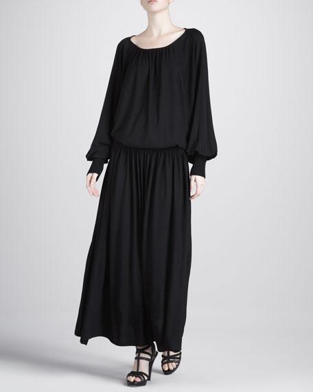 Jersey Blouson Dress