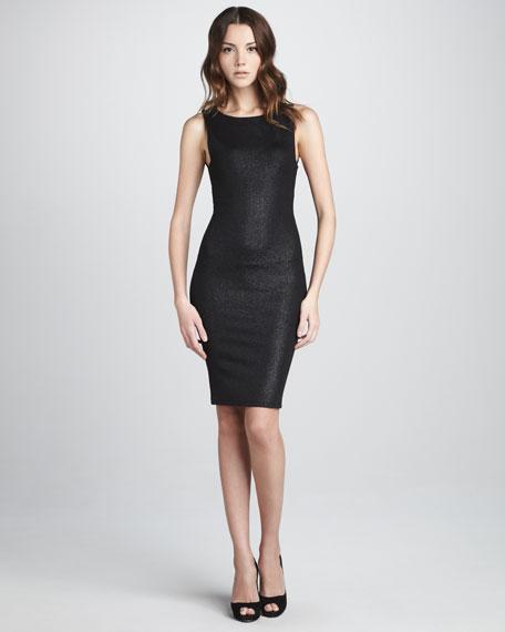 Gina Fitted Cutout-Back Dress