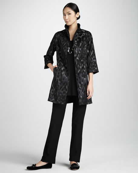 Sleeveless Silk Tunic, Women's