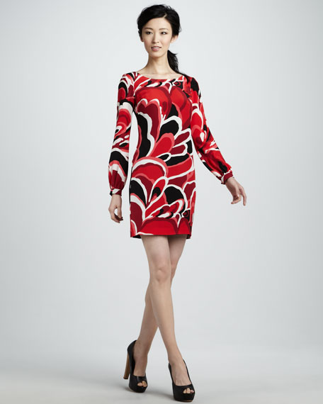 Elektra Long-Sleeve Dress
