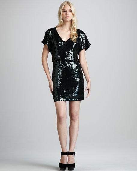 Goldfinger Blouson Dress
