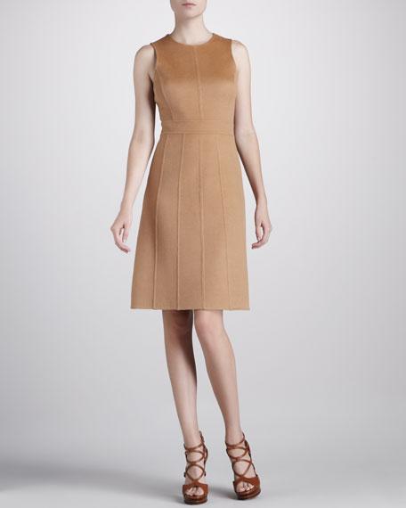 A-Line Felt Dress