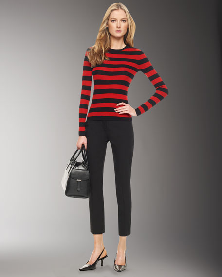 Featherweight Cashmere Striped Tee
