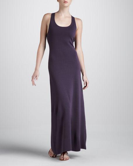 Cashmere Racerback Maxi Dress