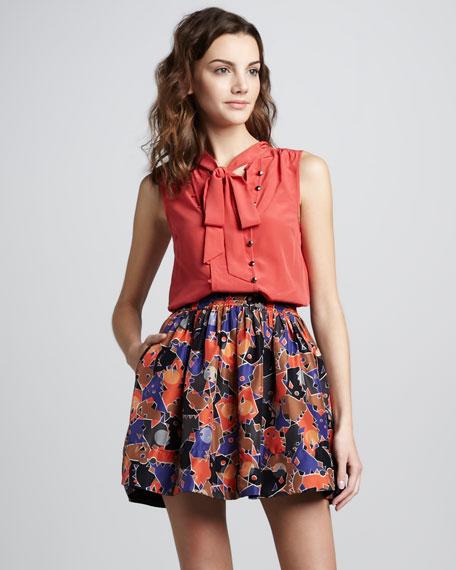 Nata Full Printed Skirt