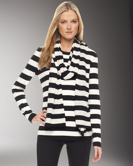 Cashmere Striped Sweater