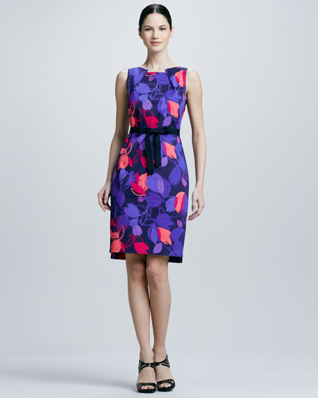 Callie Floral-Print Dress