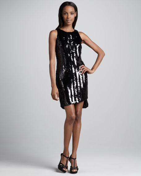 Bari Sequined Dress
