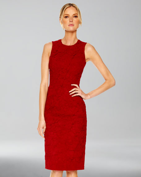 Georgette Sheath Dress
