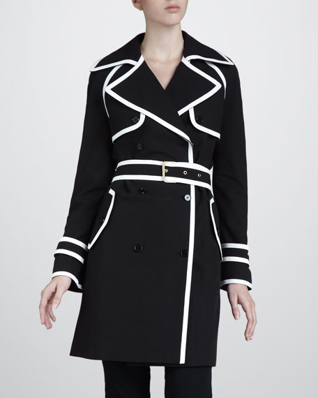 Outlined Trenchcoat