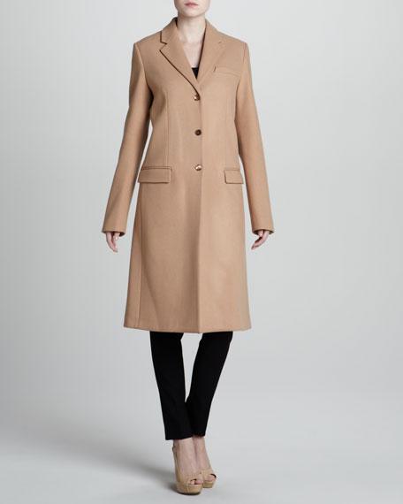 Wool Reefer Coat