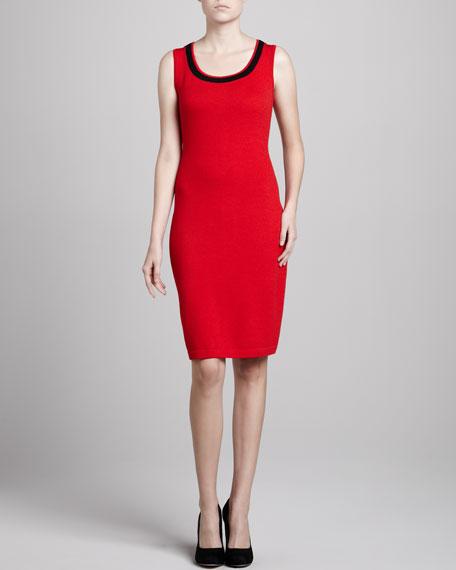 Santana Scoop-Neck Sleeveless Dress