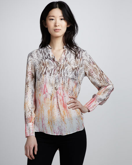 Truth Snake-Print Blouse