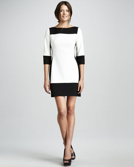 Vicki Colorblock Dress