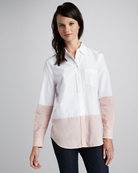 Reese Colorblock Blouse