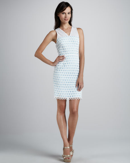 Artesa Dress with Scalloped Hem