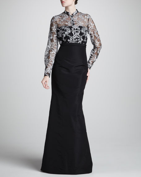 Mrs. H Lace-Top Gown