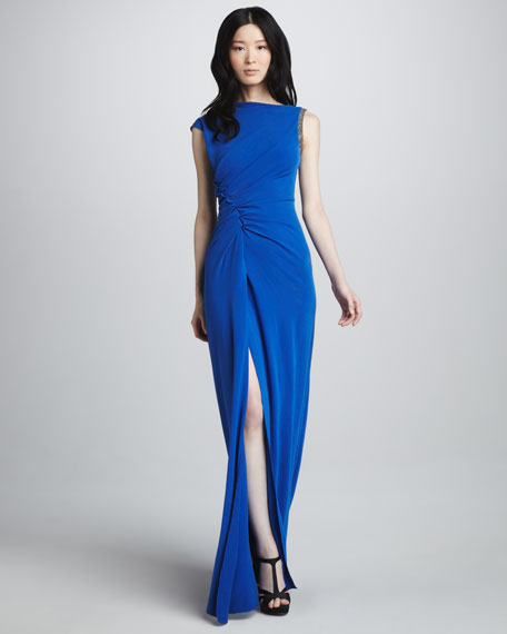 Ruch-Side Gown