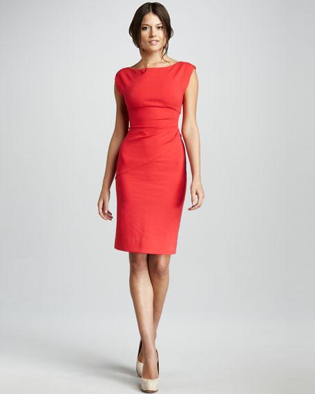 Jori Cap-Sleeve Dress