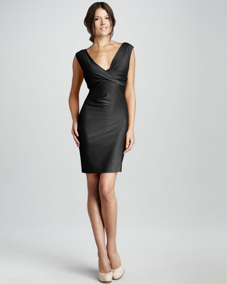Parker Ruched Jersey Dress