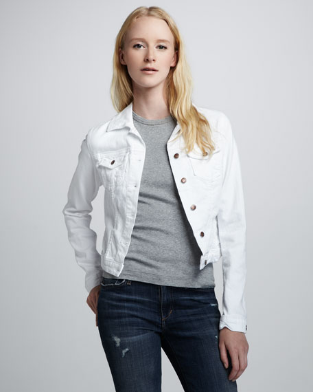 Bonnie Cropped Denim Jacket