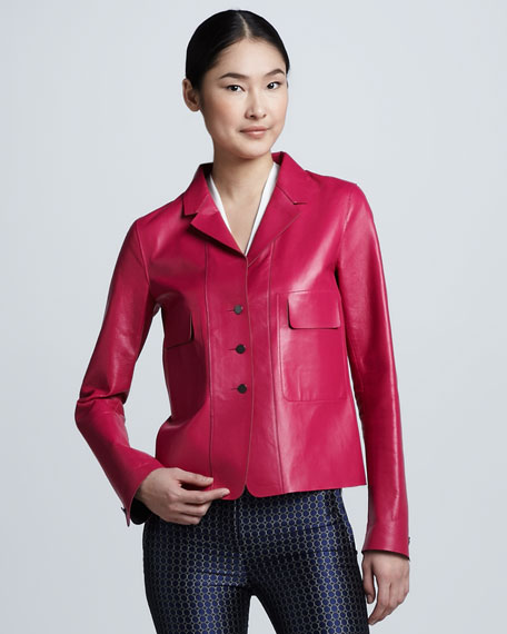 Tina Leather Jacket