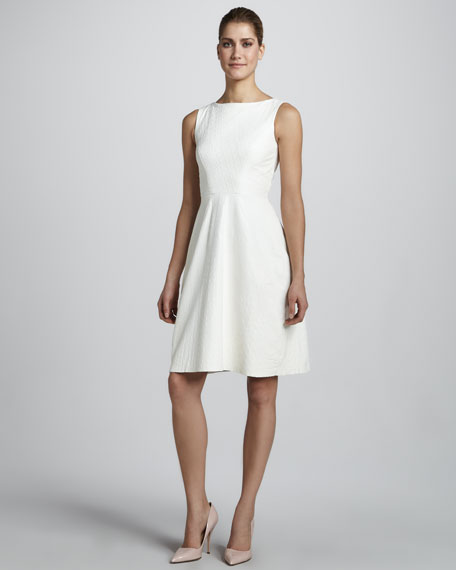 Sleeveless Alligator Dress