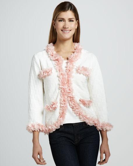 Petal Ruffle Jacket